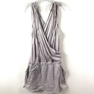 7 For All Mankind Faux Wrap Cotton Dress